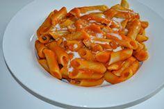Fruity Vegan Temptation: Herbstgericht: Creamy spicy pumpkin pasta
