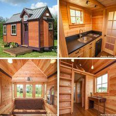 Tiny house interior and exterior design http://jadecraftsmanbuilders.com/jadetinyhouse/