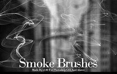 free-photoshop-brushes-smoke-set