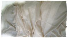 Noelle's Silver Cashmere Shawl Scarf