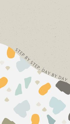 Step by step, day by day. on We Heart It