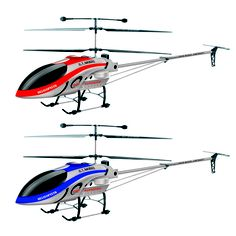 1.68m extra large 3.5ch double propellers alloy remote control helicopter with multicolored lights