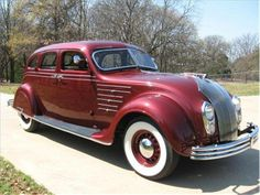 Chrysler Airflow, Chrysler Imperial, Creative Pictures, Retro Cars, Old Cars, Antique Cars, Automobile, Classic, Photographs
