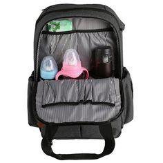 Aerobin Baby Nappy Bags 2 Pockets Nursery Bed Hanging Storage Bag Toy Diapers Organizer Pocket