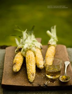 Sweet Paul Magazine - Summer 2011 - Fresh From the Garden {Roasted Corns with Chili Marinade}