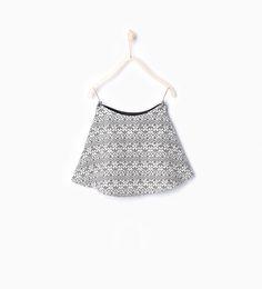 Image 2 of Jacquard skirt from Zara