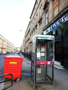 My street in West End Glasgow.