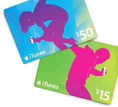 iTunes giftcard (Any amount)
