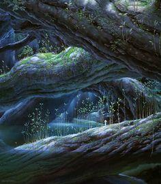 miyazaki forest - Поиск в Google