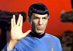 """Mr. Spock in """"Star Trek"""