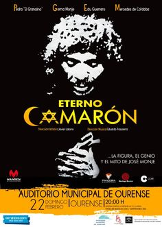 Eterno Camarón en Auditorio Municipal, Ourense musical música flamenco escea danza