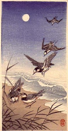 Ohara Koson (1877-1945) Just found one of these at a thrift store and am having a heck of a time finding out how old it is and how much it would go for. More so out of curiosity since I kind of want to keep it.