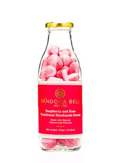 Sugar and spice and all things natural. Pandora Bell's Traditional Sweets are floral, fruity, spicy and delicious. Handmade and rich in natural flavours, Pandora Bell's Traditional Sweets contain only natural colours. Our Raspberry & Roseis a saucy twist for any lover of traditional Apple Drops. Hard Candy has had a Pandora Bell make over and …