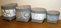 Alchemy fabric nesting bowls tutorial
