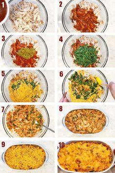 Keto Chicken Enchilada Casserole | Healthy Recipes Blog