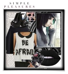 """""""Untitled #278"""" by mysummersky ❤ liked on Polyvore featuring WithChic, Iron Fist, Lime Crime and Fallon"""