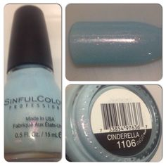 Sinful Colors Nail Polish- Cinderella