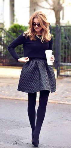 Wide skirt