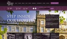 The Bedford Hotel Website - 25 Amazing Travel Websites That Inspire
