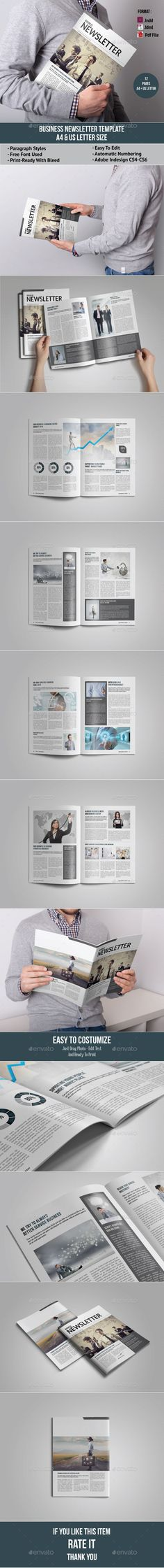 Page Newspaper Indesign V  Newspaper Print Templates And