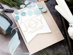 Glittered Die Cuts + STAMPtember Blog Party