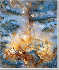 Plume Agate Rock - Bill Atkinson Photography