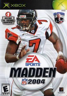 Madden 2004 Xbox Mike Vick 0dbae4375