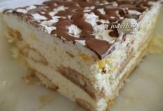 foghatunk is neki a Hungarian Desserts, Hungarian Cake, Hungarian Cuisine, Hungarian Recipes, Hungarian Food, My Recipes, Cooking Recipes, Favorite Recipes, Best Food Ever