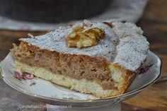Carola bakt Zoethoudertjes: Franse walnotentaart
