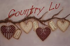 ♥ Country Lu ♥: Country Painting