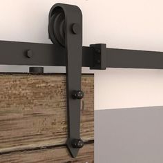 195 cm deslizante hardware porta do celeiro Interior Americano deslizante kit porta do celeiro Cheap Barn Door Hardware, Closet Door Hardware, Barn Door Closet, Rustic Hardware, Sliding Barn Door Hardware, Door Hinges, Door Brackets, Door Latch, Sliding Barn Door Track