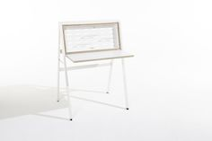 HIDEsk : The pop-up home office par le studio Michaels Hilgers