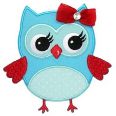 Blue and Red Girl Owl Iron On Applique Patch Kids Baby by PatchMommy, http://www.amazon.co.uk/dp/B00EQUYELQ/ref=cm_sw_r_pi_dp_KDrftb06R2N8G