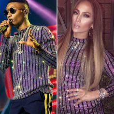 Who rocked the look? @wizkidayo Vs @jlo in a @gucci crystal embroidered rib knit shirt.   #jlo #jenniferlopez #instafashion #style #instastyle #fashionbombdaily #celebritystyle #fashion #gucci #fashionstatement #fashionbombdaily #fashionbombafrica #fashionbombmen  #knitwear #instafashion #style #fashionblogger #fashionpost #like4like #follow4follow