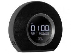 Rádio-Relógio Alarme FM LED MP3 com Bluetooth - Horizon - JBL