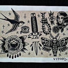Saindo do forno... Disponível para tatuar! Interessados favor entrar em contato por Direct ou pelo cel/whatsapp (22) 98123-5903! #tattoo #tatuagem #flash #tradicional #oldschool #blackwork #traditionalblack #traditional_tattoo_flash #trad_tattooflash #trflash #tradilatino #boldsolidtattooflash #tattooflashswap #tradicional_brasileiro #tattoorj #tatuadoresbrasileiros #tatuadoresrj #t4ttoois #4r71s74s #tattoo2me #inspirationtattoo #myworldofink #arte #art #draw #desenho #paint #pintura