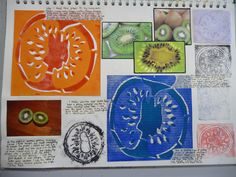 YEAR 9 Colour Theory Study - monochrome and complimentary colours Lesson 1 Textiles Sketchbook, Gcse Art Sketchbook, Sketchbooks, Juan Sanchez Cotan, Sketchbook Inspiration, Sketchbook Ideas, Art Folder, Natural Forms Gcse, A Level Art