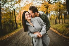 Lovely couple emotional portrait into Tuscany countryside in Mugello near Florence taken by the crative and modern engagement photographer Gabriele Fani.