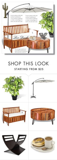 """""""Lov Dock!"""" by dianagrigoryan ❤ liked on Polyvore featuring interior, interiors, interior design, home, home decor, interior decorating, interiordesign and homeset"""