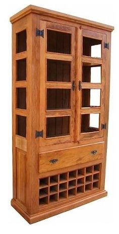 armário adega em madeira de demolição (peroba rosa)