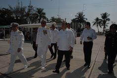 El Gobernador de Veracruz, Javier Duarte de Ochoa, asistió a la Ceremonia de Entrega Recepción del Mando de Armas, el 18 de enero de 2011, en la que tomó Posesión como Comandante de la Primera Región Naval el Almte. Jorge Arturo Maldonado Orozco.