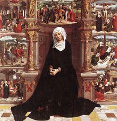 Isenbrant, Adriaen - Vierge des Sept Douleurs - Église Notre-Dame, Bruges