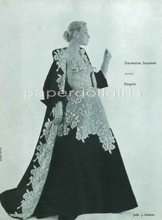 1954 Germaine Lecomte