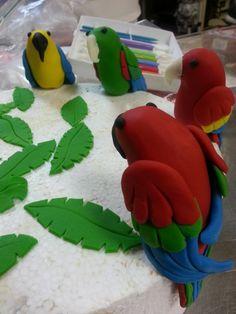 It's a parrot party!!