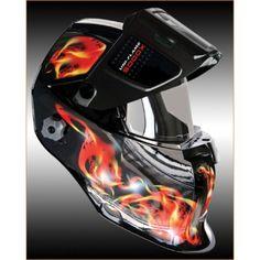 UNI-FLAME 5000X Auto Darkening Welding / Grinding Helmet                                                                                                                                                                                 More