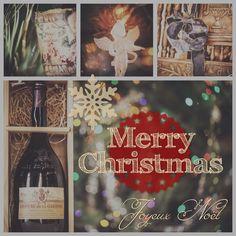 Merry Xmas / Joyeux Noël #SeasonsGreetings #VoeuxdeNoel