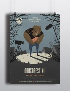 Obuxofest Film Festival, Poster on Behance