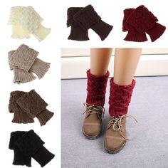 Cheap knitting patterns ribbon yarn, Buy Quality boots dog directly from China boots help Suppliers:      Women Crochet Knitted Trim Boot Cuffs Toppers Liner Leg Warmer Socks