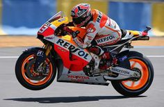 #AutoSport_com ~ May 18, 2014 #MARC_MARQUEZ came back from 10th place to maintain his 2014 #MotoGP unbeaten run with win number five in the French #Grand_Prix_at_Le_Mans http://www.autosport.com/news/report.php/id/114001
