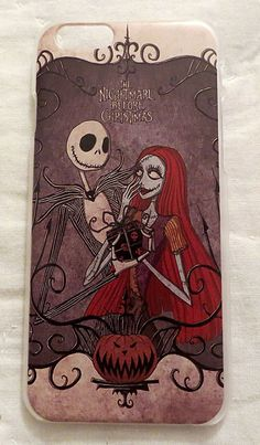 NIGHTMARE BEFORE CHRISTMAS JACK & SALLY CASE FOR IPHONE 6 PHONE COVER NEW